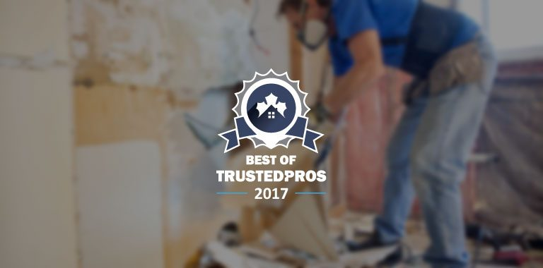 Best of TrustedPros 2017 - Kloos Hauling & Demolition