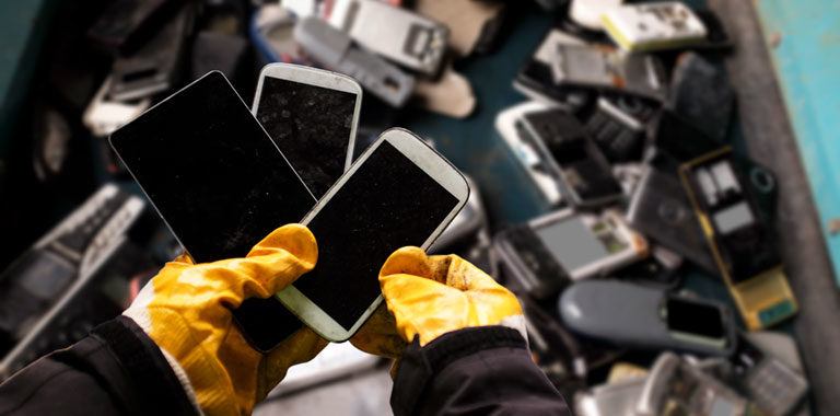 Electronic Devices - Five surprising things you can recycle and two you can't - Winnipeg Waste Recycling - Junk Removal Winnipeg - Kloos Hauling and Demolition