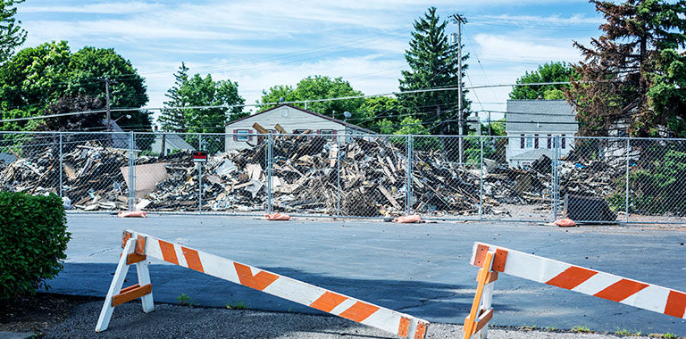 The differences between commercial demolition and residential demolition - Winnipeg Demolition - Demolition Winnipeg - Kloos Hauling & Demolition