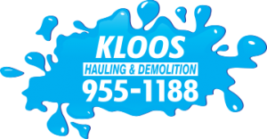 Call Kloos Hauling & Demolition at 204-955-1188 today for junk removal